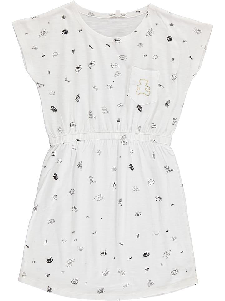 """Lulu Castagnette Sukienka """"Eliaz"""" w kolorze białym"""
