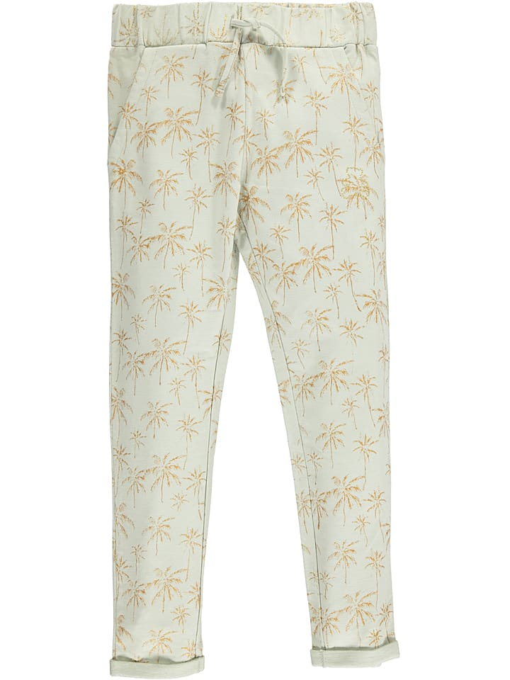"""Lulu Castagnette Spodnie dresowe """"Epinette"""" w kolorze jasnozielonym"""