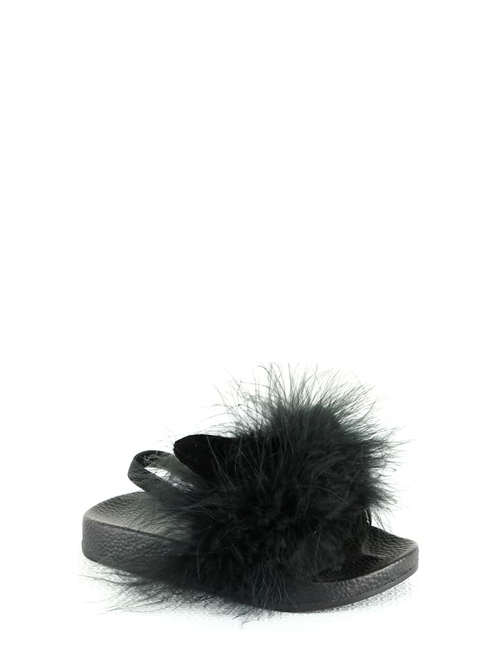 Rock & Joy Mules - noir