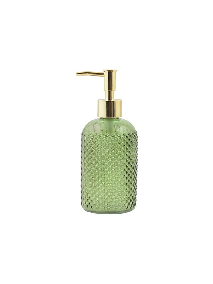 Dom z pomysłem Dozownik w kolorze zielono-złotym do mydła - 400 ml
