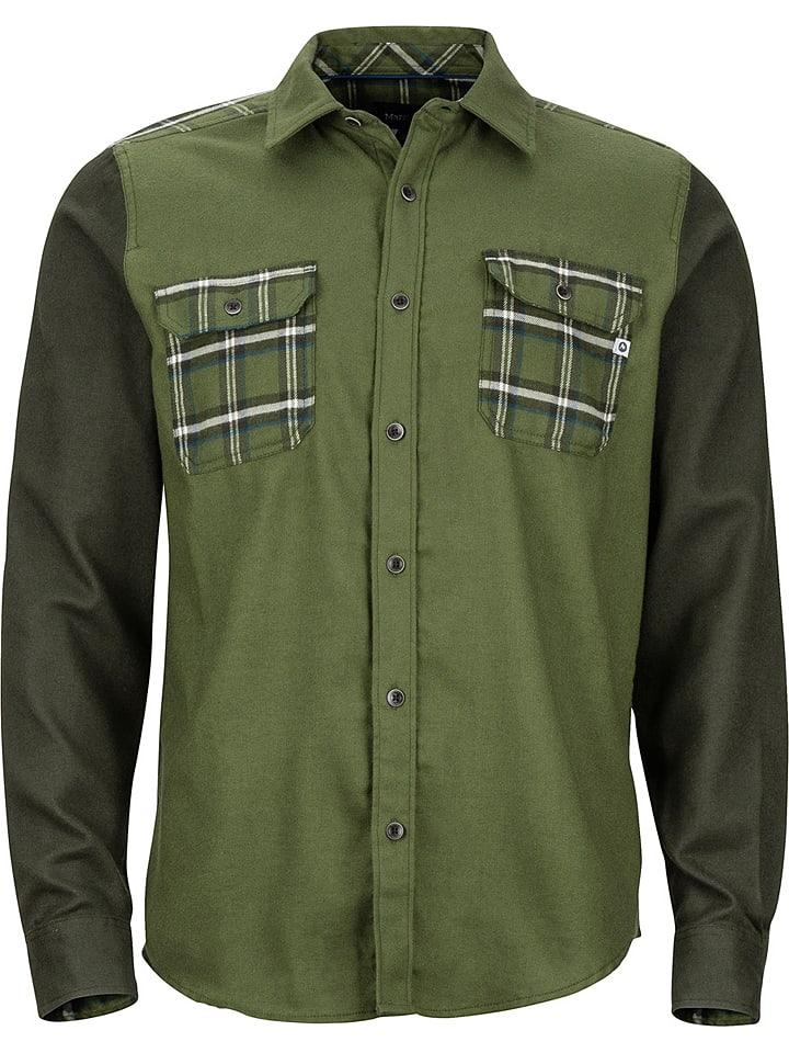 Marmot Koszula funkcyjna w kolorze zielonym