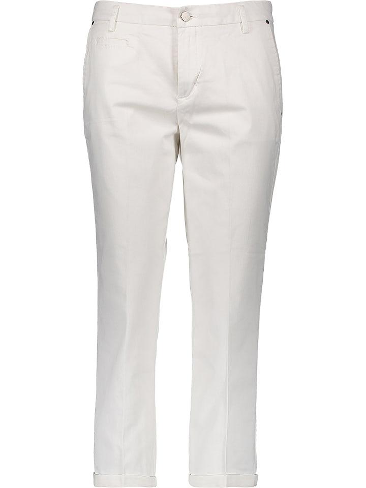 Benetton Spodnie w kolorze białym