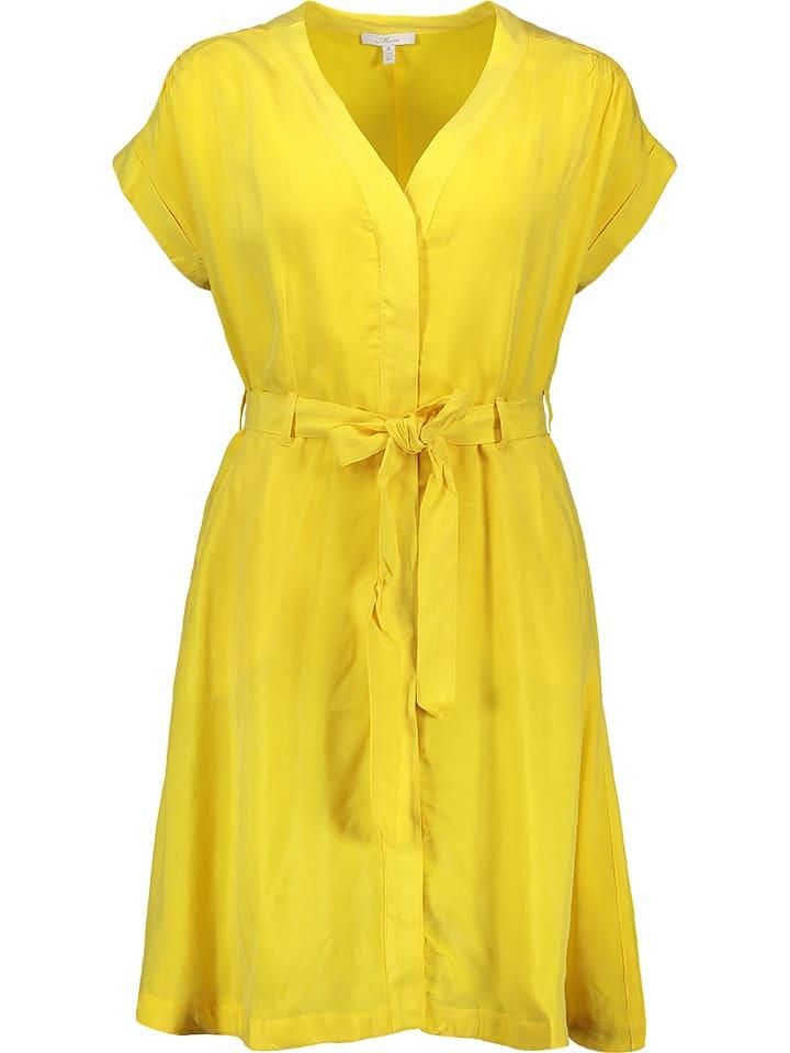 Mavi Jeans Sukienka w kolorze żółtym