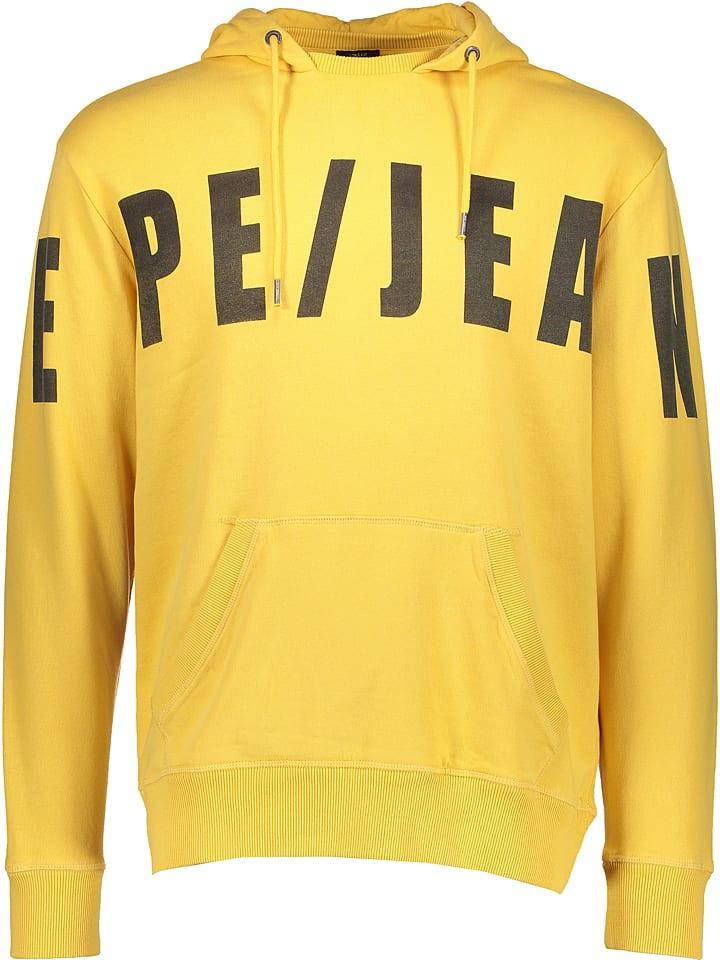 "Pepe Jeans Bluza ""Corpid"" w kolorze żółtym"