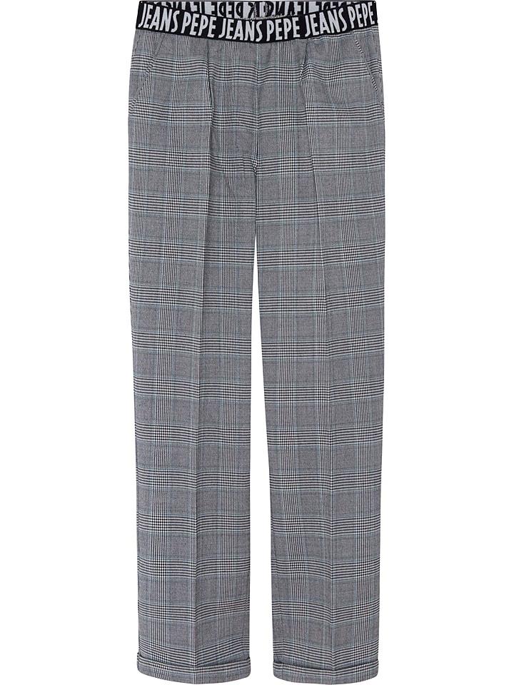 Pepe Spodnie w kolorze szarym