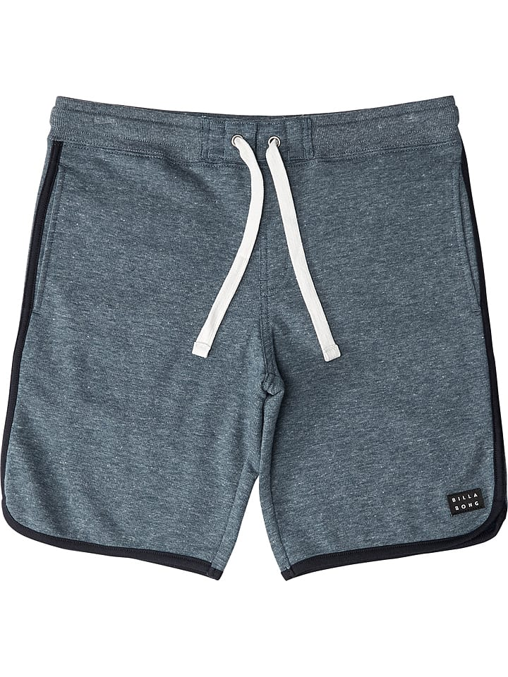 "Billabong Short en sweat ""All Day"" - gris-bleu"