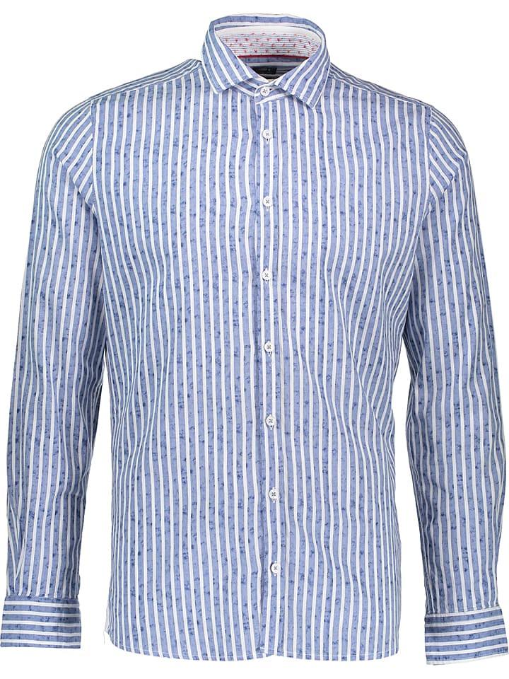 Otto Kern Koszula w kolorze biało-niebieskim