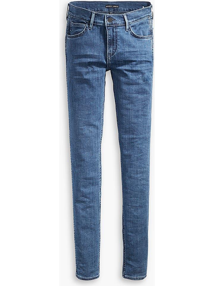 """Levi´s Dżinsy """"L8"""" - Skinny fit - w kolorze niebieskim"""