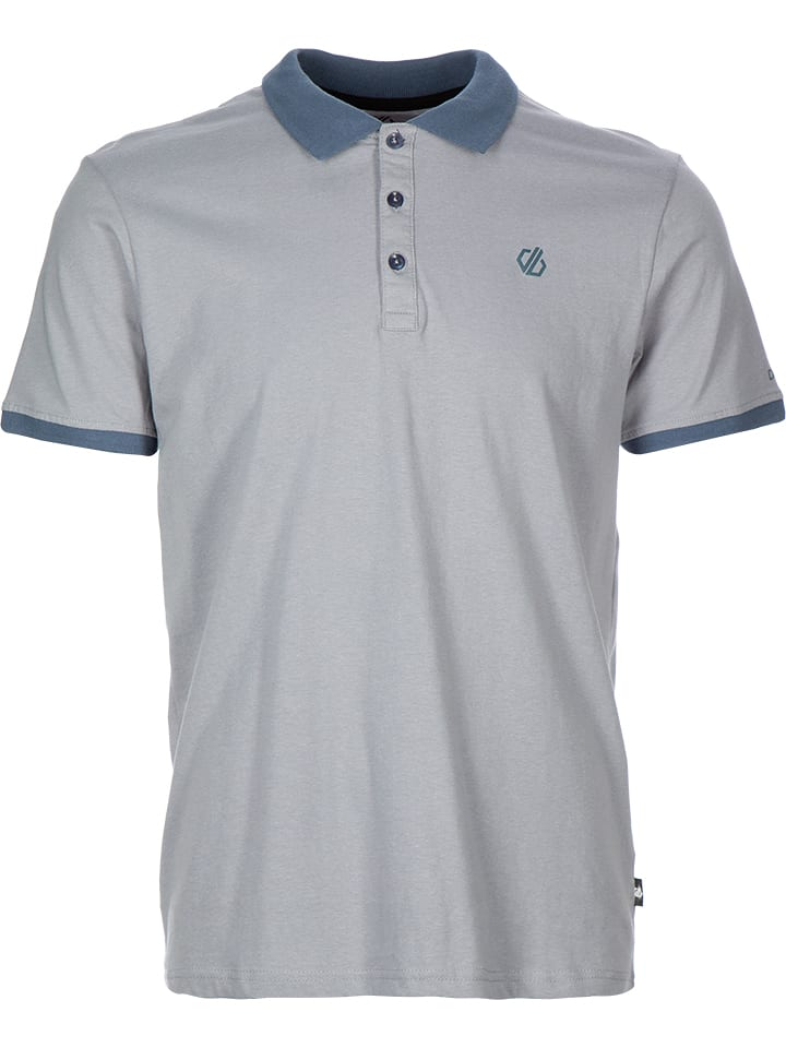 """Dare 2b Polo """"Deference"""" - gris"""