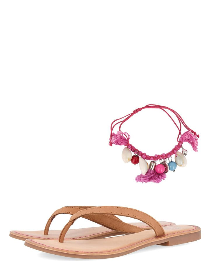 new style 2acd0 fac80 Limango | SALE Gioseppo Leder-Zehentrenner in Pink | 67 ...