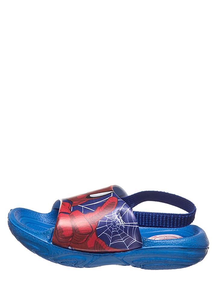"MARVEL Spider-Man Mules ""Spider-Man"" - bleu"
