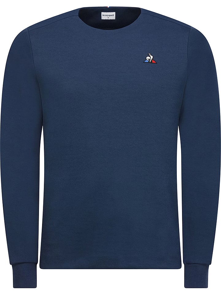le coq sportif sweat shirt bleu fonc outlet limango. Black Bedroom Furniture Sets. Home Design Ideas