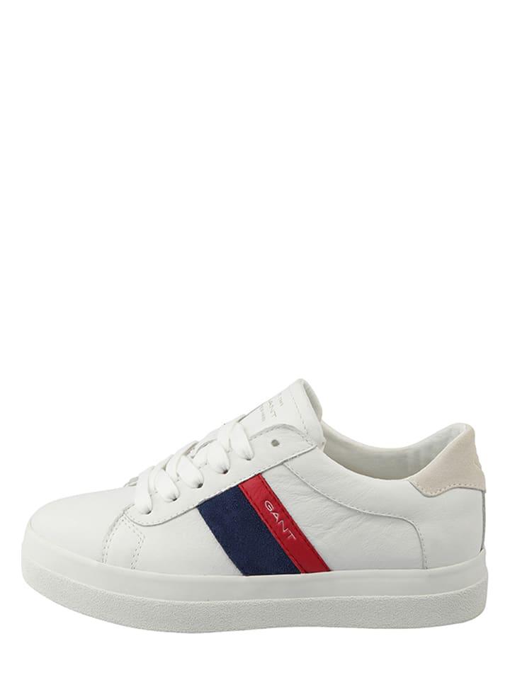 """GANT Footwear Baskets en cuir """"Aurora"""" - blanc"""
