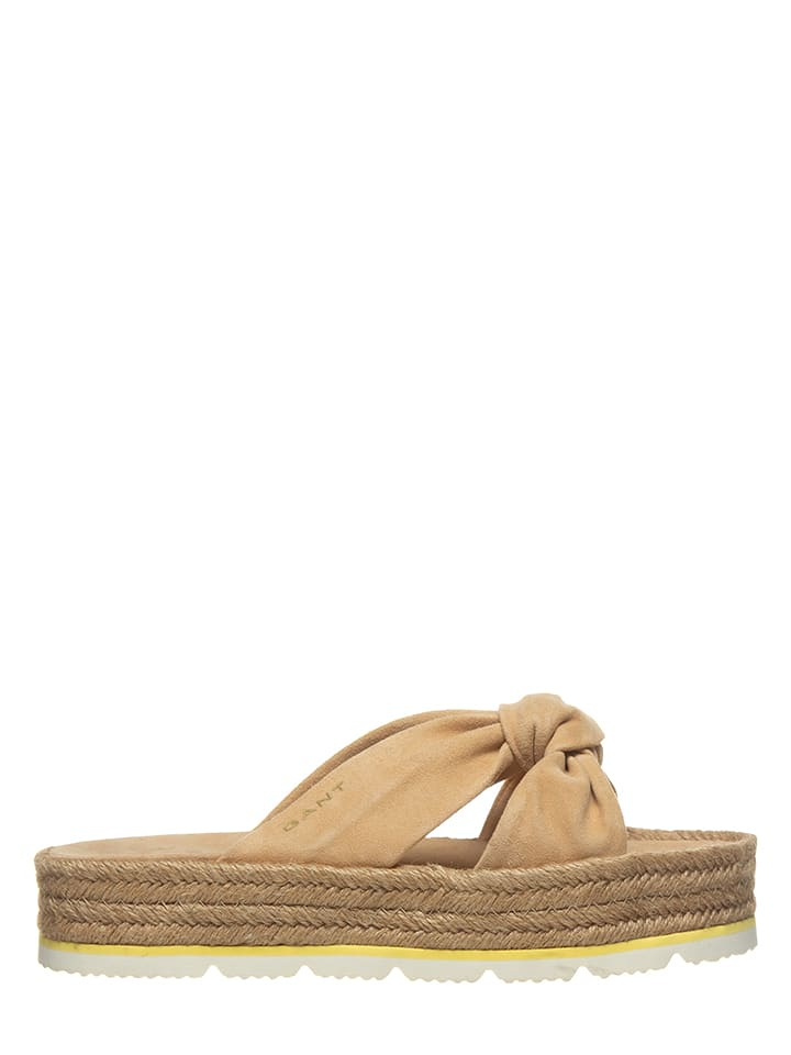 "GANT Footwear Mules ""Cape Coral"" - marron clair"