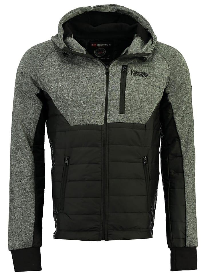 """Geographical Norway Bluza """"Ucorse"""" w kolorze czarnym"""