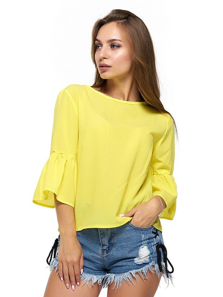 Bessa Bluzka w kolorze żółtym