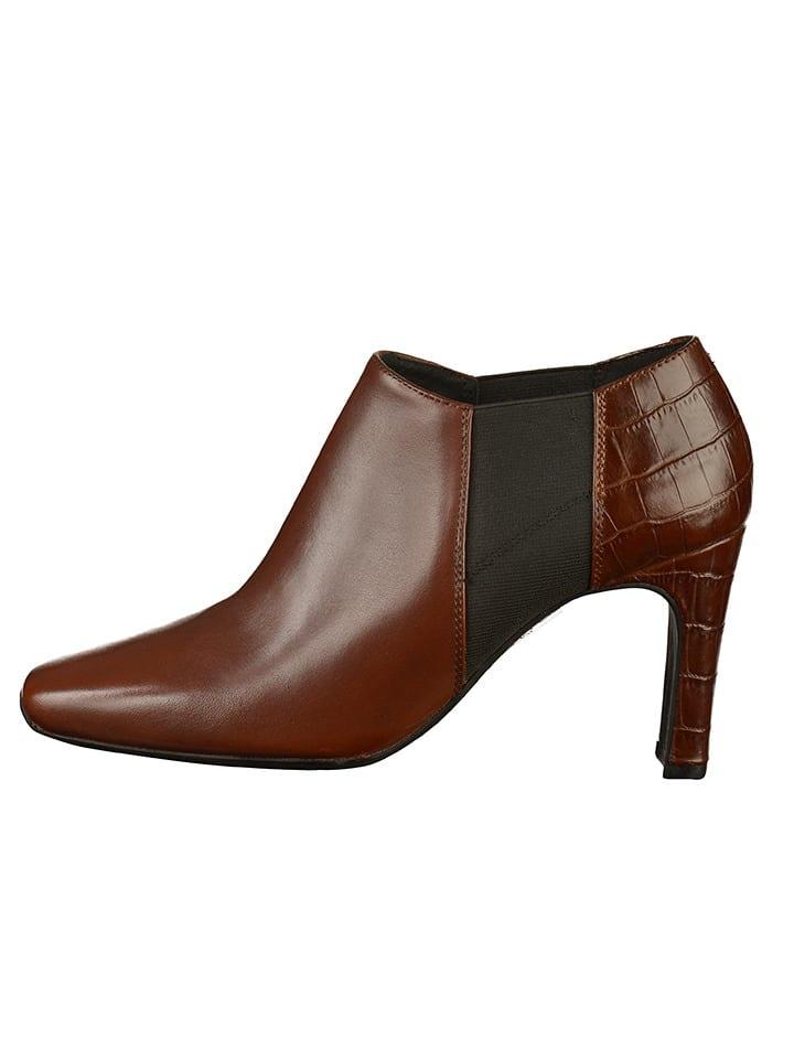 separation shoes dca02 78682 Limango | SALE Geox Leder-Chelsea-Boots in Hellbraun | 46 ...