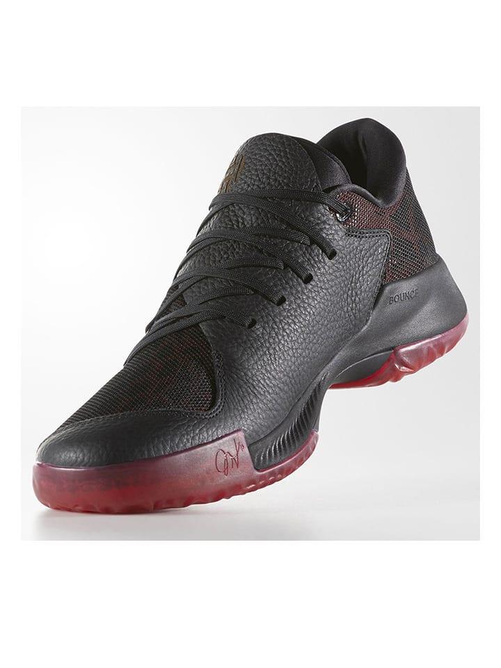 """Basketbalschoenen """"Harden B/E"""" zwart/rood"""