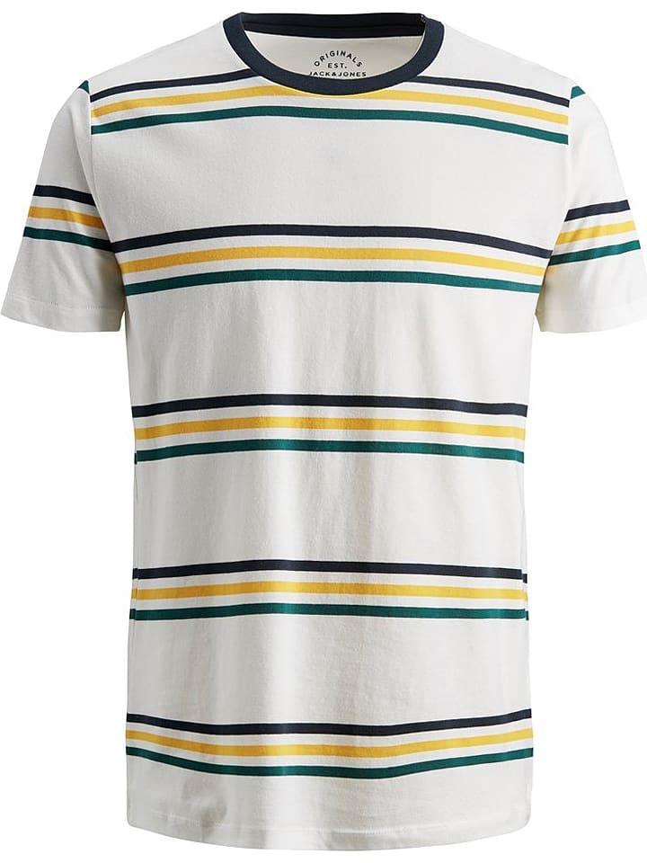 Jack & Jones Koszulka w kolorze białym