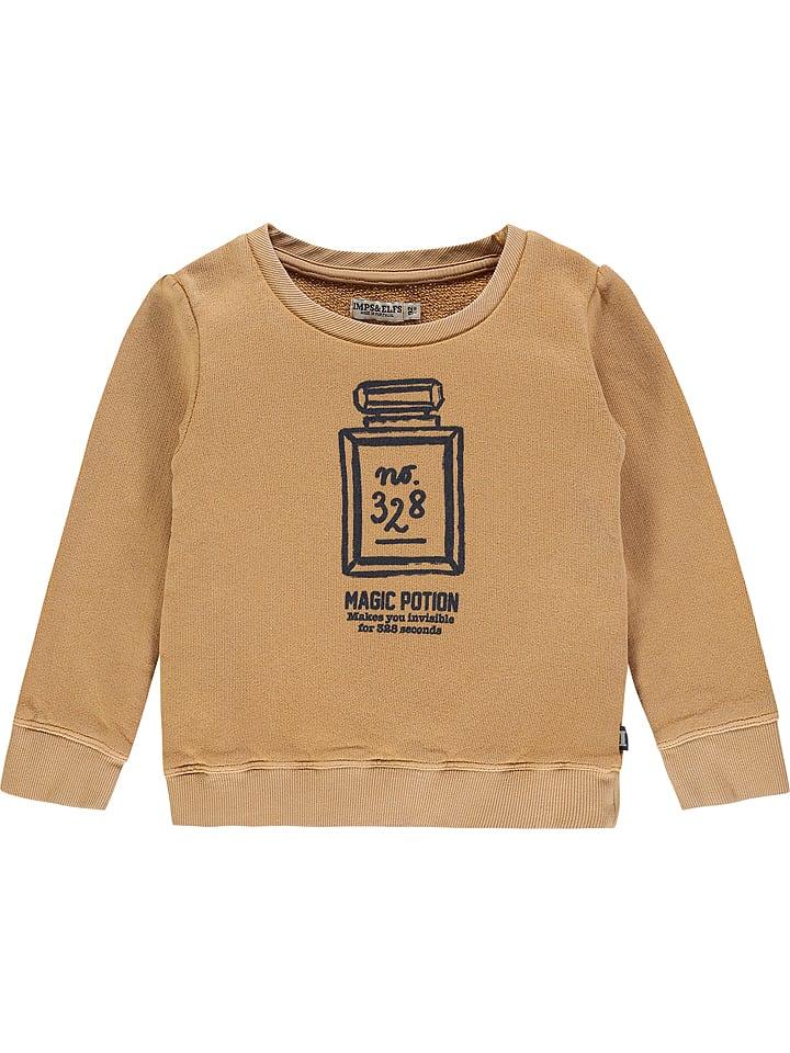 Imps & Elfs Sweatshirt lichtbruin