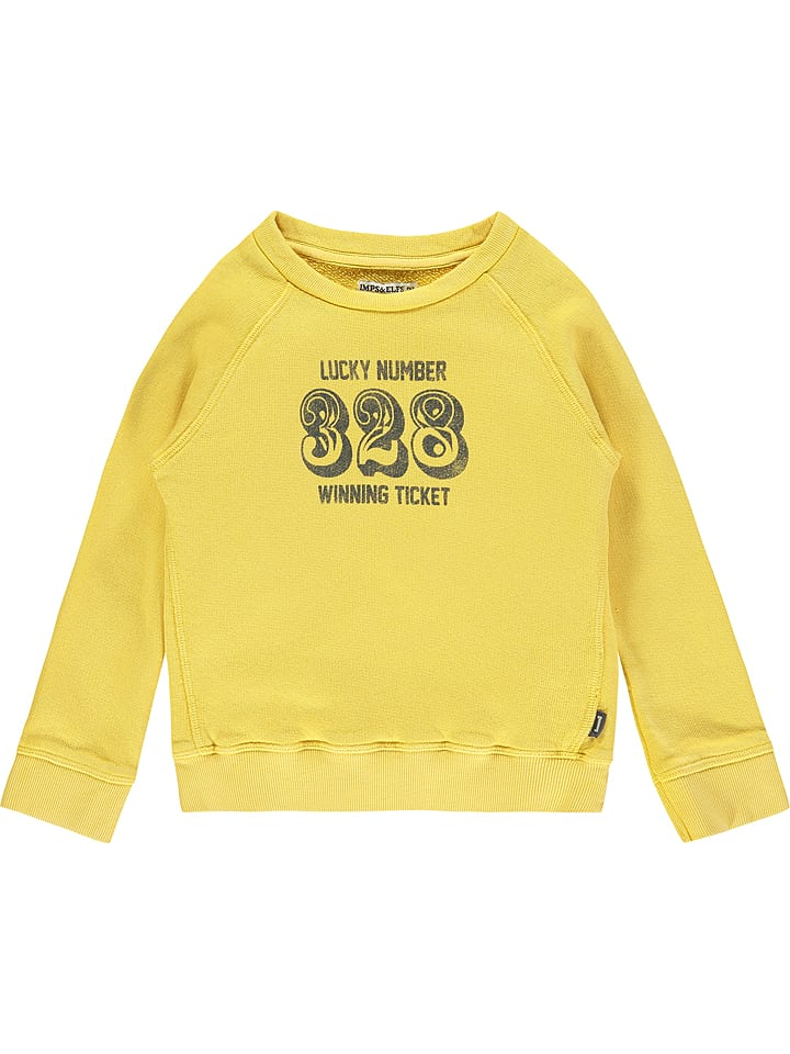 Imps & Elfs Sweatshirt geel