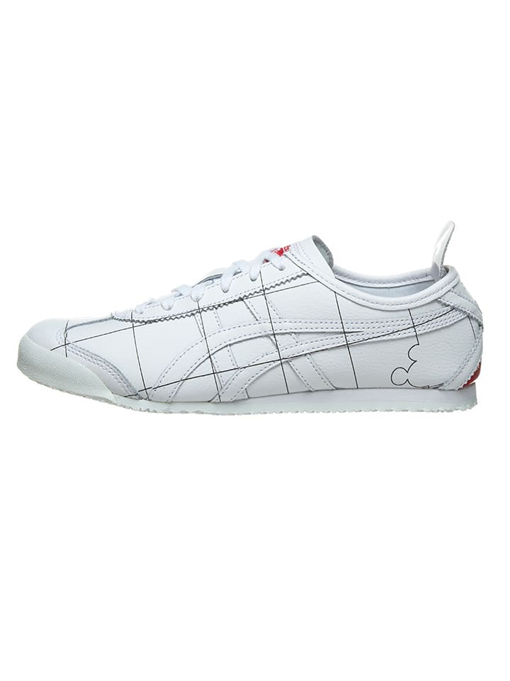 "Asics Leren sneakers ""Mexico 66"" wit"