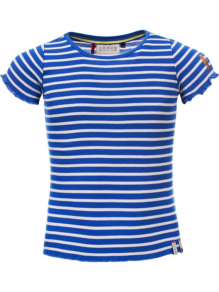 Looxs Revolution Shirt blauw/wit