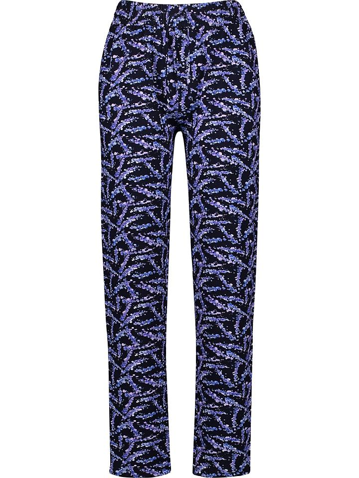 Gerry Weber Sweatbroek donkerblauw/paars