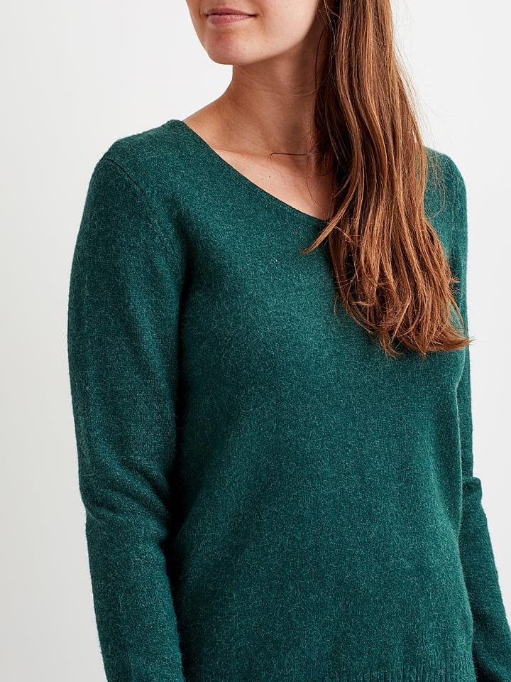 """Vila Sweter """"Ril"""" w kolorze zielonym"""