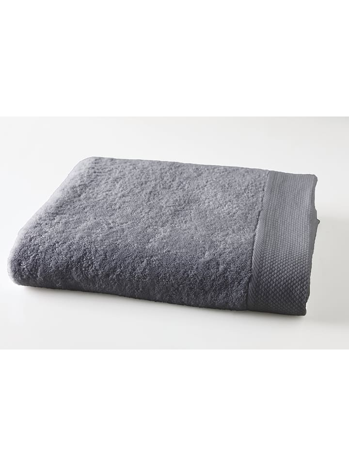Soft by Perle de Coton Ręcznik w kolorze szarym