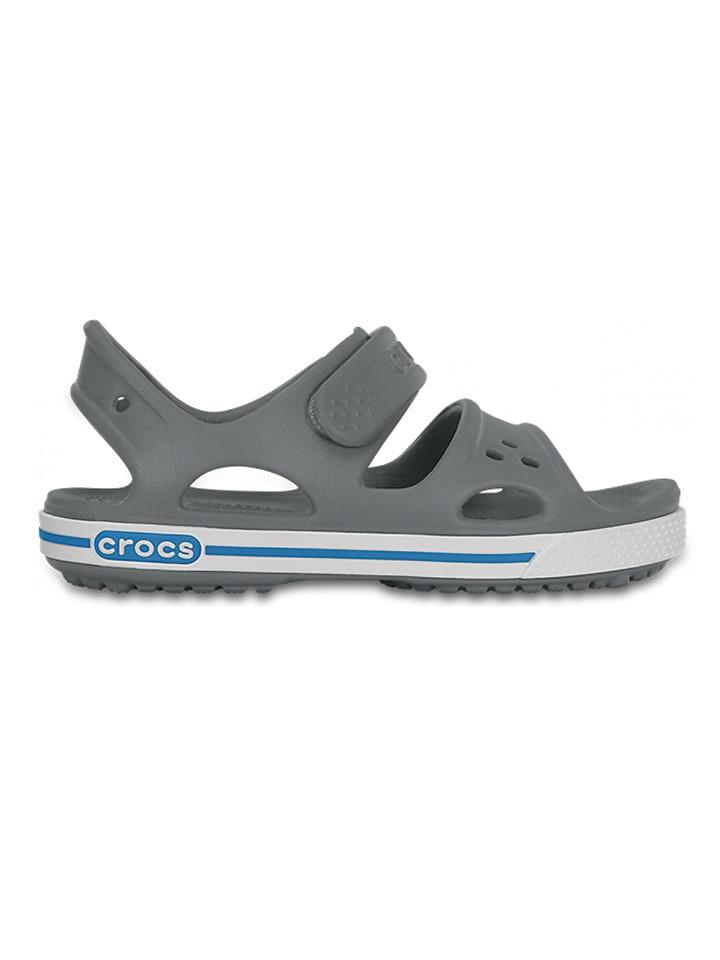 """Crocs Sandały """"Crocband II"""" w kolorze szarym"""