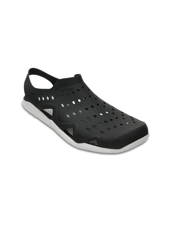 """Crocs Chodaki """"Swiftwater"""" w kolorze czarnym"""