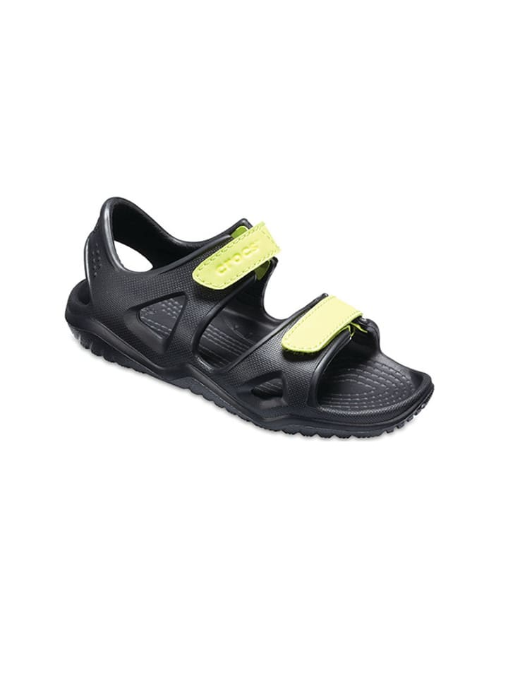 """Crocs Sandały """"Swiftwater River"""" w kolorze czarnym"""