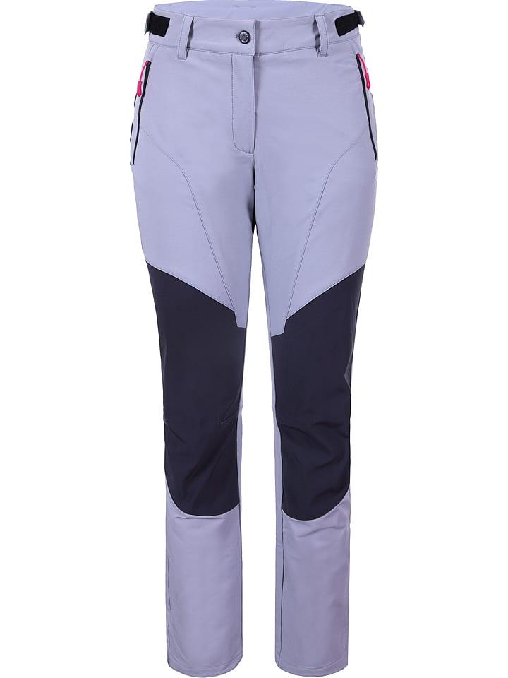 """Icepeak Spodnie """"Lilith"""" w kolorze fioletowym"""