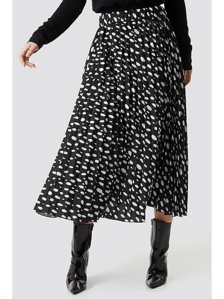 NA-KD Spódnica w kolorze czarno-białym