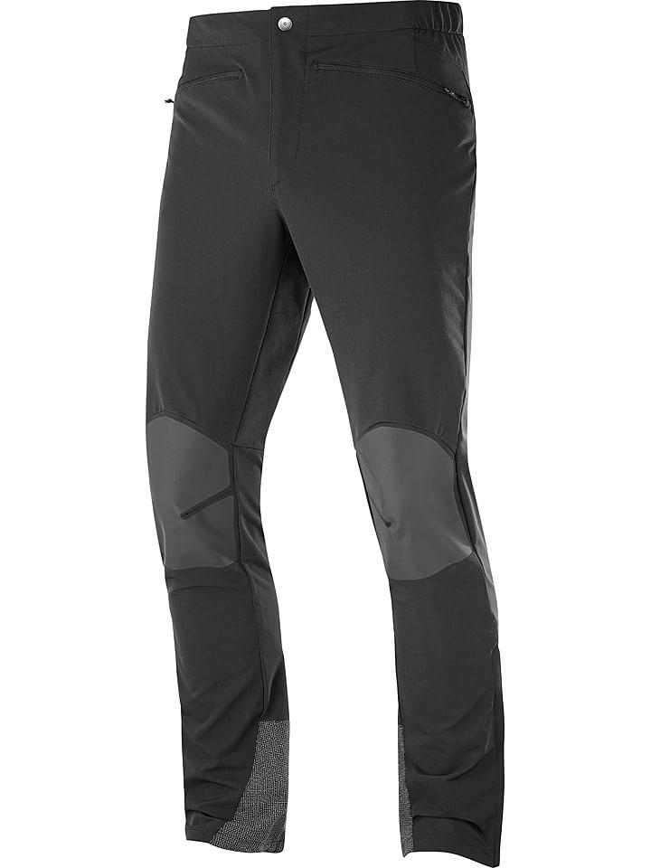 """SALOMON Spodnie funkcyjne """"Wayfarer"""" w kolorze czarnym"""