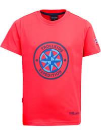 Trollkids Funktionsshirt ´´Windrose´´ in Rot | 64% Rabatt | Größe 110 | Baby shirts | 04260400524513