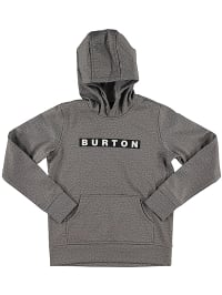 Burton Sweatshirt ´´Crown´´ in Grau | 63% Rabatt | Größe 128-140 | Kinderpullover strick | 09009520384851