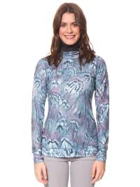 Burton Funktionsshirt in Blau | 74% Rabatt | Größe XS | Damen outdoor tops shirts | 09009520302671