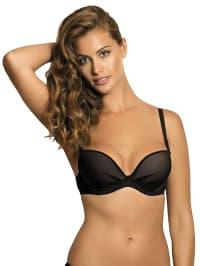Kinga Push-up-BH in Schwarz   73% Rabatt   Größe 80E   Damenwaesche   05901363638877