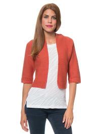 Blue Seven Cardigan in Orange   63% Rabatt   Größe 48   Damen pullover   04055851623263