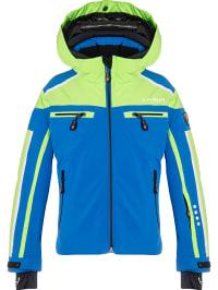 Hyra  Ski-/ Snowboardjacke ´´Universal Evolution´´ in Blau | 49% Rabatt | Größe 140 | Kinder outdoor | 06546022474695