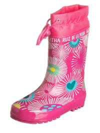 Agatha Ruiz de la Prada Gummistiefel in Pink   56% Rabatt   Größe 28   Kinderstiefel   08434198165418
