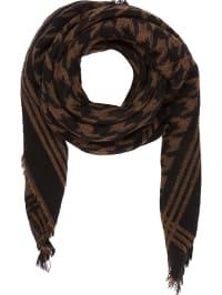 64%  . Codello. Foulard à teneur en laine - marron noir - 140 x 140 cm 662a14764ba