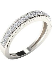 Royal Diamant Weißgold-Ring mit Diamanten | 89% Rabatt | Größe 51 | Schmuck | 05400813092059