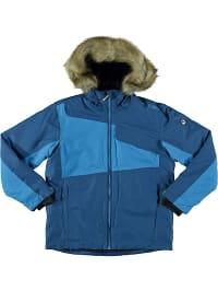CMP Ski-/ Snowboardjacke in Blau   42% Rabatt   Größe 110   Kinder outdoor   08058329626687