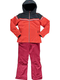 CMP  2tlg. Outfit: Ski-/ Snowboardjacke und -hose in Koralle | 53% Rabatt | Größe 104 | Kinder outdoor | 08058329616435