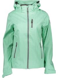 Killtec Softshelljacke ´´Jennifer´´ in Hellgrün | 46% Rabatt | Größe 40 | Damen outdoorjacken | 04056542602321