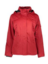 Maier Sports Funktionsjacke in Rot | 64% Rabatt | Größe 42 | Damen outdoorjacken | 04056286857841