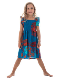 431a942c06f26f 66% *. Aller Simplement. Kleid in Blau/ Orange